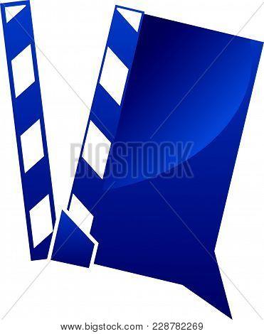 Video Sharing Logo Design Template Vector Logo Design Template Isolated Symbol