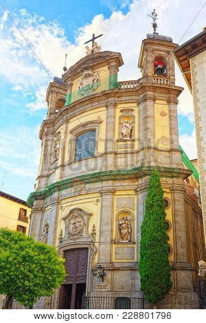 Pontifical Basilica Of St. Michael  Is A Baroque Roman Catholic
