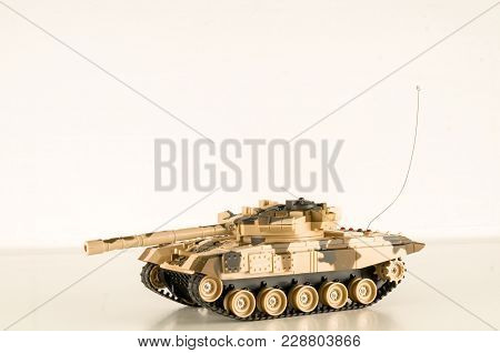 Scale Model Of A German Tank From Wwii