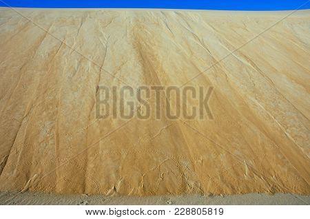 Sand Dunes Of Rub Al Khali Desert