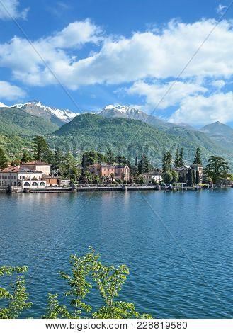 Idyllic Place At Lake Como Near Tremezzo,lombardy,italy