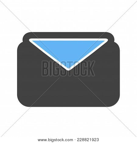 Envelope, Message, Address Icon  Image. Can Also Be Used For Email, Communication And Messaging. Sui