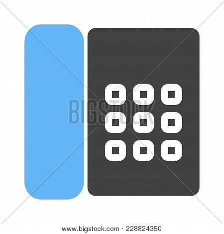 Phone, Cradle, Receiver Icon Image. Can Also Be Used For Business, Finance And Accounts. Suitable Fo