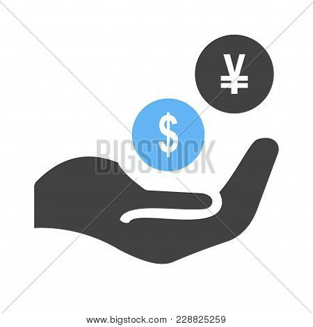 Monetary, Funds, Money, Icon Vector Image. Can Also Be Used For Banking, Finance, Business. Suitable