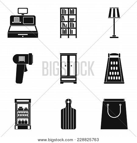 Mansion Cleaning Icons Set. Simple Set Of 9 Mansion Cleaning Vector Icons For Web Isolated On White