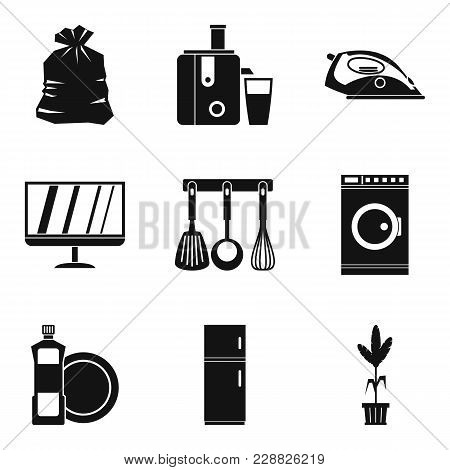 Sleeping Case Icons Set. Simple Set Of 9 Sleeping Case Vector Icons For Web Isolated On White Backgr