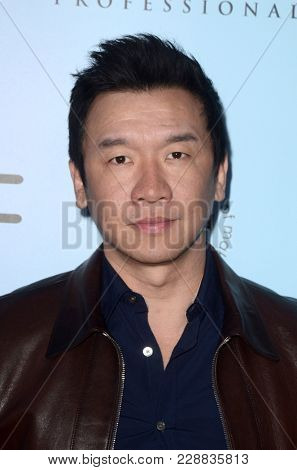 LOS ANGELES - FEB 24:  Chin Han at the 2018 Make-Up Artists and Hair Stylists Awards at the Novo Theater on February 24, 2018 in Los Angeles, CA