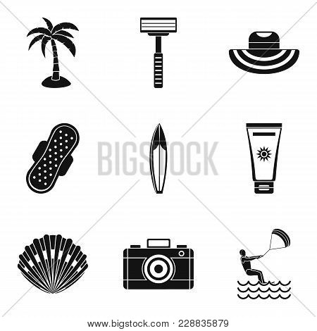 Professional Hygiene Icons Set. Simple Set Of 9 Professional Hygiene Vector Icons For Web Isolated O