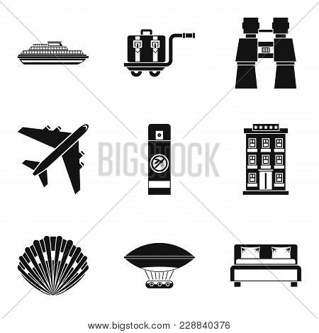 Fresh Impression Icons Set. Simple Set Of 9 Fresh Impression Vector Icons For Web Isolated On White