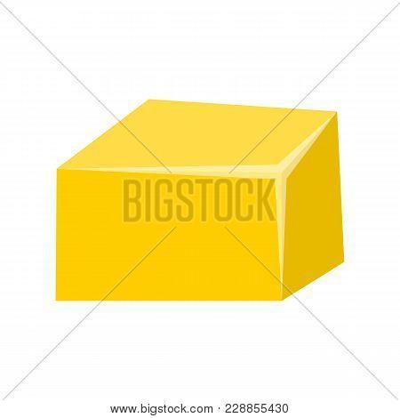Vector Cartoon Butter