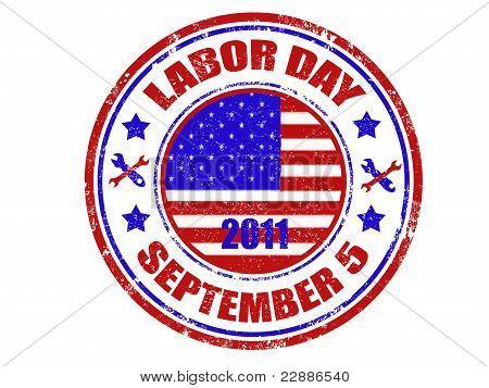 Labor Day Stamp