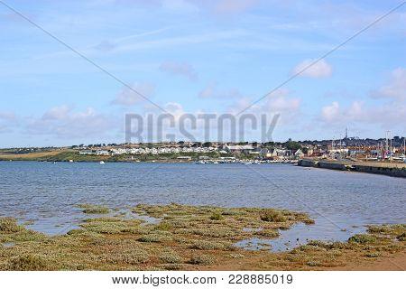 Fleet Basin In Dorset At High Tide