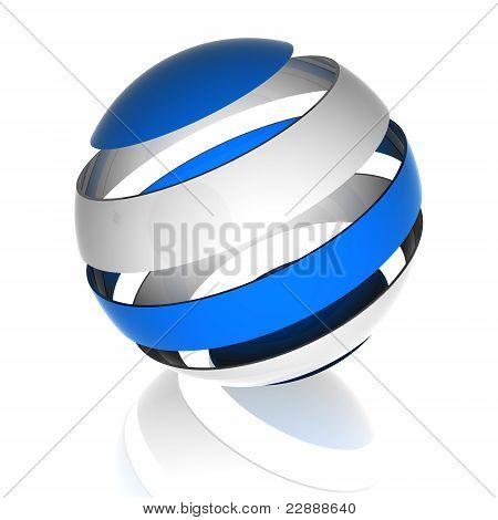 three dimentional Sphere design