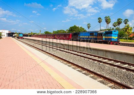 Jaffna Railway Station Is A Railway Station In Jaffna, Northern Sri Lanka. Jaffna Railway Station Is