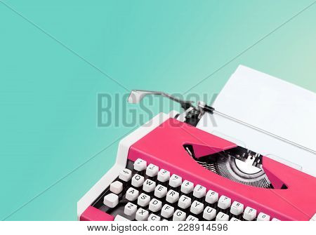 Paper Old Write Type Writer Typewriter White