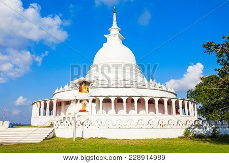 Ampara Peace Pagoda Or Ampara Sama Ceitya Is One Of A Number Of Japanese Peace Pagodas In The World
