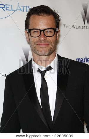 BEVERLY HILLS - JAN 16: Guy Pearce at The Weinstein Company And Relativity Media's 2011 Golden Globe Awards Party in Beverly Hills, California on January 16, 2011