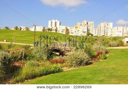 Residential area of Haifa