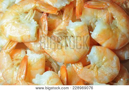 Cooked Shrimps.