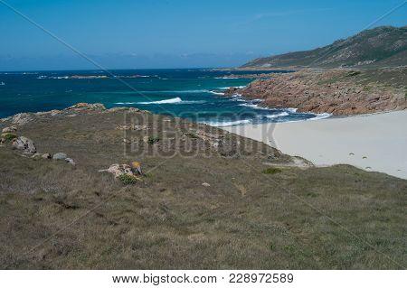 Landscape Of The Death Coast  In Galicia, Spain