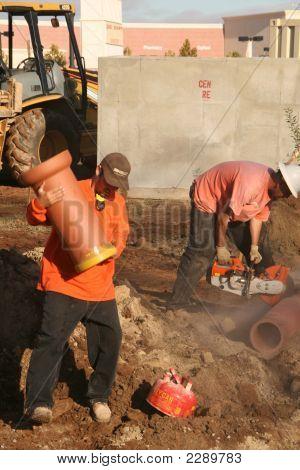 Construction Worker, Underground