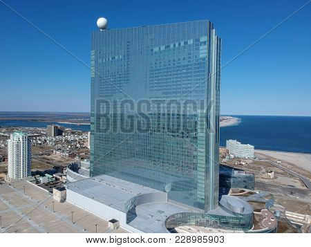 Feb. 27, 2018 Atlantic City N.J : The Revel Hotel and Casino started accepting applications for employment today. They hope to open their doors by the summer of this year.
