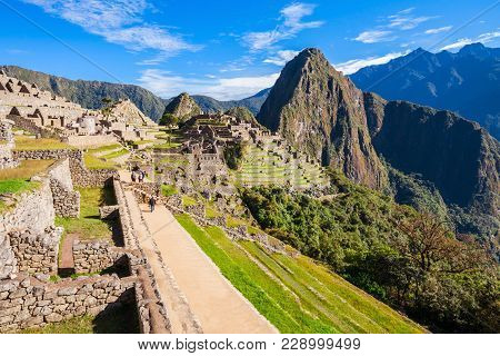 Machu Picchu Lost City Of Inkas In Peru