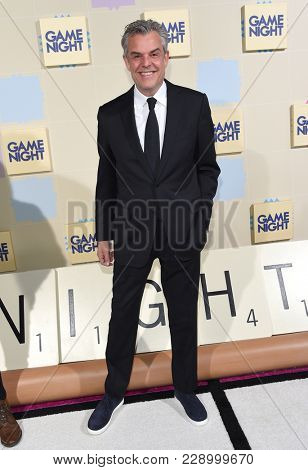 LOS ANGELES - FEB 21:  Danny Huston arrives for the