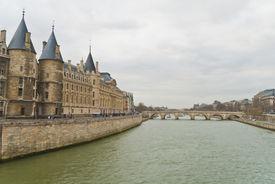 View On A Bridge At Paris