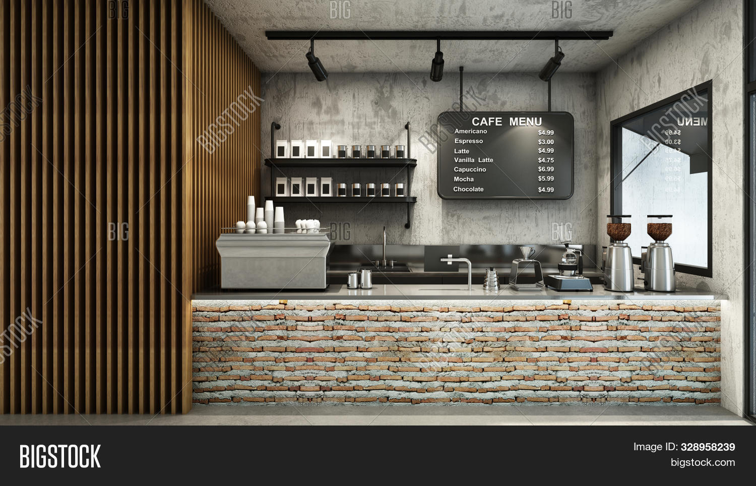 Cafe Shop Restaurant Image Photo Free Trial Bigstock