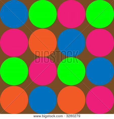 Big Bright Polka Dots