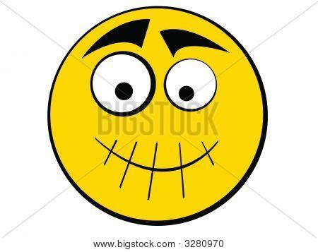 Smiley Icon Silence