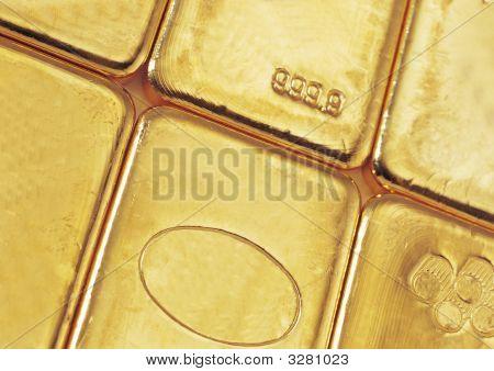 Gold Bar Or Bullion