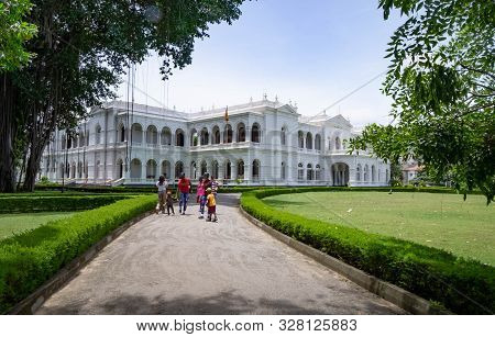 Colombo, Sri Lanka - August 11, 2019: The National Museum Of Colombo Has A Rich Collection Of Asian