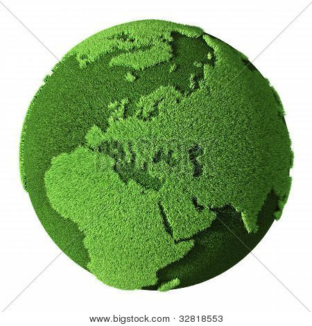 Grass Globe - Europe