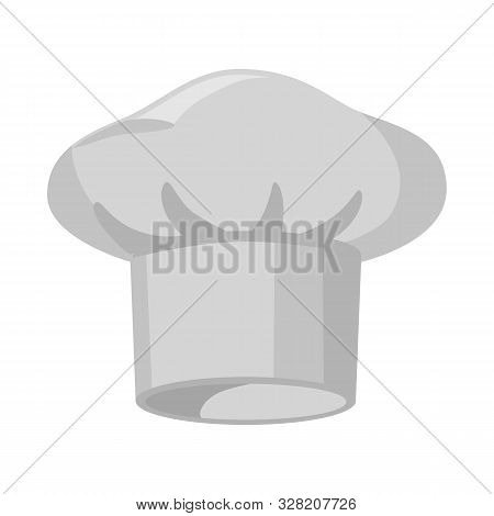 Isolated Object Of Confectioner And Hat Icon. Collection Of Confectioner And Chef Vector Icon For St