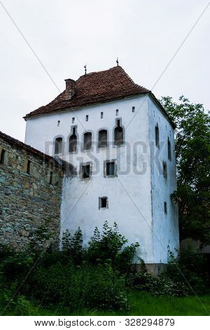 The Architecture Of The Coopers Tower, From Bistrita Is An Achievement Of The Gothic Military Archit