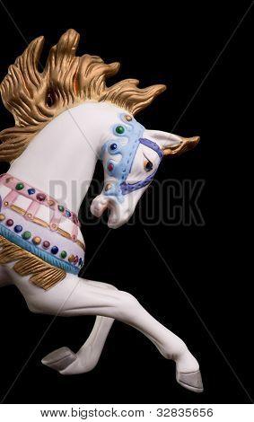 Colorful Carousel Horse