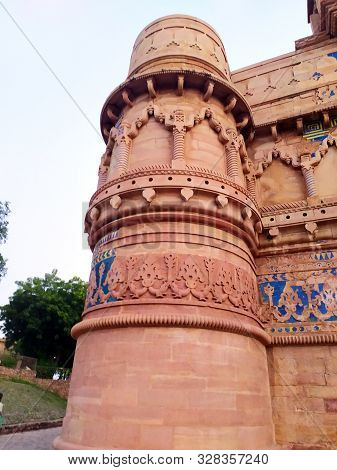 This Is The Man Singh Palace In Gwalior Fort Under Archaeological Survey Of India At Gwalior City Ma