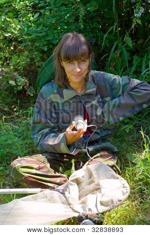 Woman Entomologist