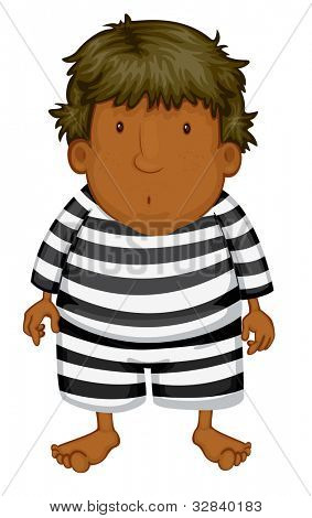 Dan th criminal on white - EPS VECTOR format also available in my portfolio.