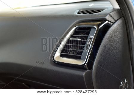 Ventilation Holes In A Luxury Passenger Car