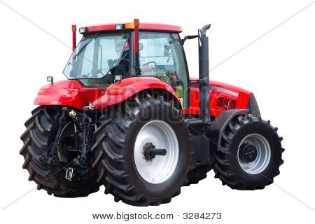 New Red Tractor
