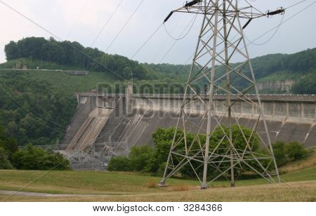 Norris Dam And Power House