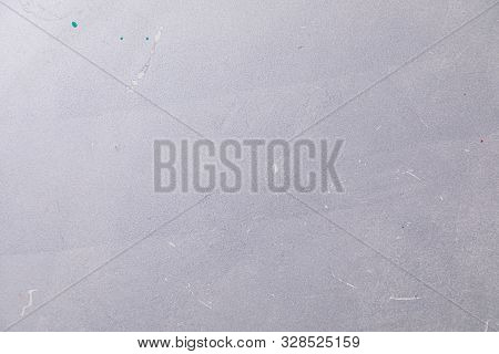 White Beton Surface With A Few Blurs Of Paint