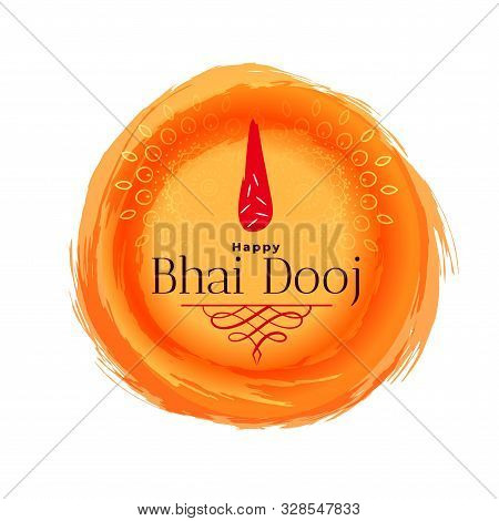 Bhai Dooj Celebration Banner For Indian Festival