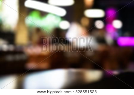 Beautiful Bokeh Cityscape Background. Stock Colorful Picture Photo For Your Design