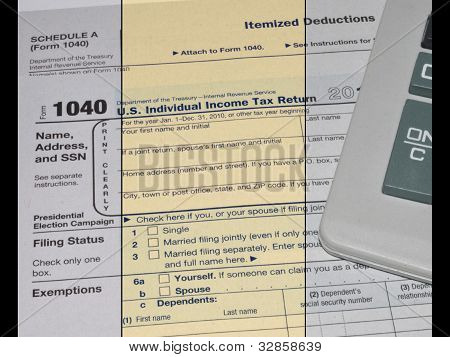 Individual Income Tax Return, Form 1040