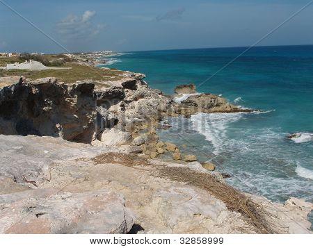 Shoreline of Isla Mujeres