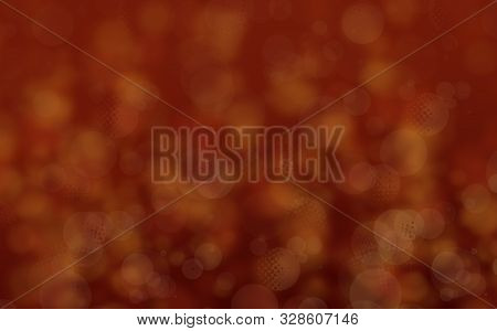 Abstract Colorful Autumn Tones Background. Autumn Nature Colors Illustration. Free Space. Warm Color